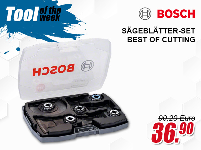 Bosch Sägeblätter-Set Best of Cutting AIZ 32 AT / AIZ 32 BSPB / AIZ 32 APB / AII 65 APB / ACZ 85 EB - 2608664131