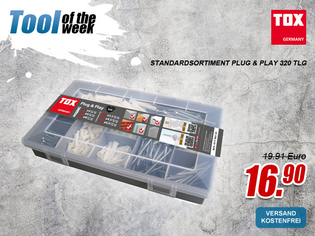 TOX Standardsortiment Plug & Play 320 tlg. - jetzt bei myToolStore